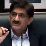 syed murad ali shah chief minister sindh coronavirus