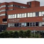 St. George's Hospital South London pakistani british mother