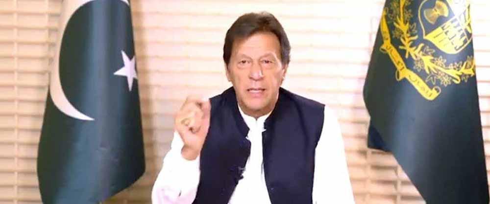 imran khan prime minister addresing coronavirus