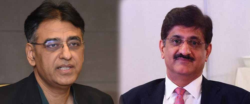 murad ali shah asad umar 14th april lockdown