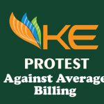 protest against k electric average billing
