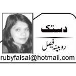 rubina faisal urdu columnist urdu writer dastak