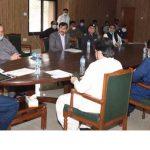 syed murad ali shah sukkur meeting lockdown
