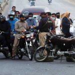 Double riding motorcycle case sindh karachi