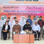 sindh boy scouts association ghulam nabi aig
