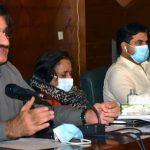 syed murad ali shah cm sindh assembly building auditoroume meeting coronavirus