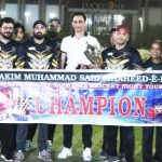 hamdard foundation jaguar win tournament