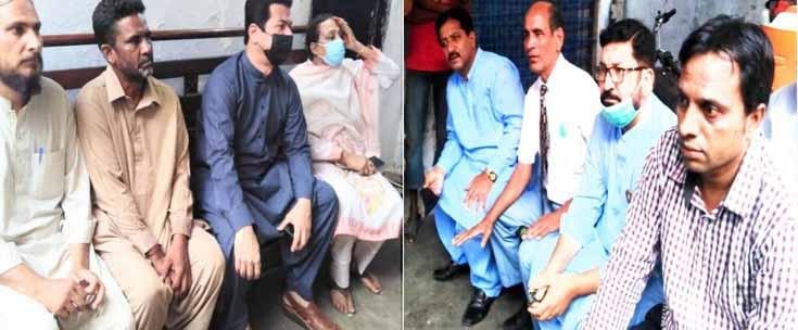pti mpa jamal siddiqui razzaq bajwa visit essa nagri jumaima