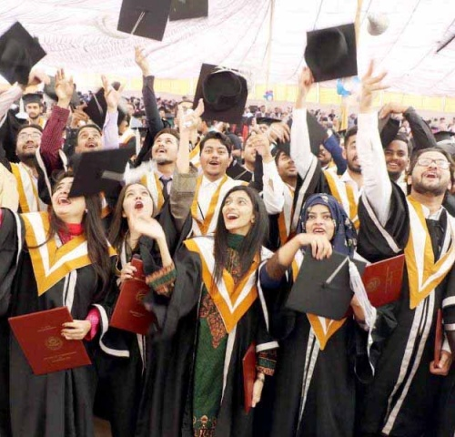 graduation ceremony in sindh